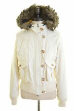 WOOLRICH Womens Padded Jacket Size 14 Medium White  A110