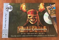 Pirates of the Caribbean Game DVD Treasure Hunt Game Disney 2006, Sealed Decks