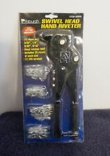 Pittsburgh Swivel Head Hand Riveter Set New