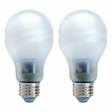 GE E26 Base Reveal CFL 15 Watt Light Bulb A19 780 Lumens 2 Pack