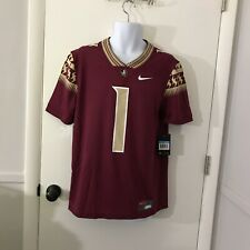 New Mens Nike Dri-Fit NCAA Florida State Seminoles Football Jersey Size Medium