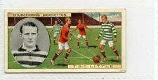 More details for (gb8114-513) churchman, footballers, coloured, #33 t.s.little, bradford 1914 vg+