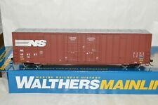 HO scale Walthers Norfolk Southern Ry 60' High Cube Plate F box car train 469207
