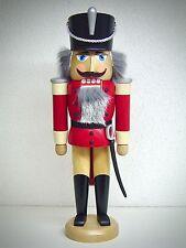 Casse-Noisette hussard avec finition rouge 37cm véritable Erzgebirge 15577