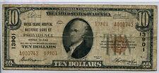 1929 $10 Providence Rhode Island - The Rhode Island Hospital NB CH # 13901 Fine