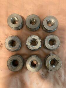 """9 RE 51 1-1/2""""x1/2"""" conduit reducing bushing CH ECM CLI CLII CLIII zinc steel"""