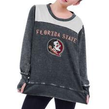 Florida State Seminoles Women's Cutout Back Tunic Heather Grey Size M Chicka-D