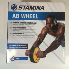 2019 Stamina Products Ab Wheel Strength Core Builder Exercise