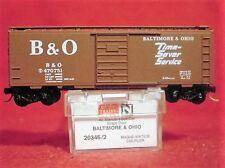 MTL 20346-2 BALTIMORE & OHIO 40'Box Car 'Time-Saver Service'#470751 MINT N-SCALE