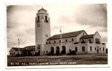 Boise, Ada County, Idaho, O.S.L. Railroad Depot, Real Photo Pc, c. 1920-30's