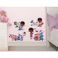 New 27 Disney DOC MCSTUFFINS WALL DECALS Girls Bedroom Stickers Toy Room Decor