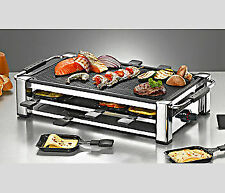Rommelsbacher RCC1500 Fashion Grill Raclette - Silber