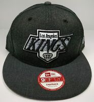 Los Angeles Kings New Era 9Fifty Charcoal Vintage Chevy Logo Snapback Cap NHL