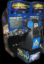 Atari Rush 2049 Arcade Machine (Excellent Condition)*Rare* w/Lcd Monitor Upgrade