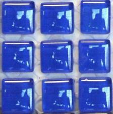 81 murrini verre cristal tuiles de Mosaïque - Cobalt Pierre