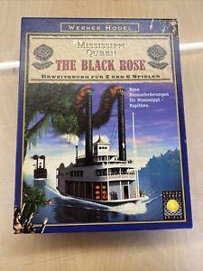 """Mississippi Queen (Goldsieber) - Erweiterung """"The Black Rose"""" zum SdJ 1997"""