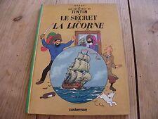 LIVRE BD TINTIN - LE SECRET DE LA LICORNE