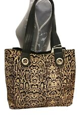River Island Beige Leather Snake Print Slouch Bag RRP £65 Tote Shopper BNWT