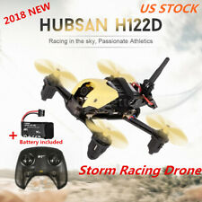 Hubsan H122DX4 FPV STORM Racing Drone 720P Camera+ Transmitter + Drone Battery