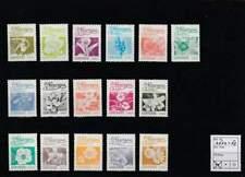 Nicaragua postfris 1986 MNH 2652-2667 - Bloemen / Flowers