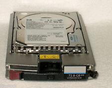 HP 72.8GB Hot Swap U320 10K SCSI UNITÀ RICAMBI 289042-001 P 271837-004 300955-015