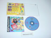 SPIN JAM puzzle game complete in case w/ manual for SONY PLAYSTATION or PS2