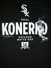 Chicago White Sox Paul Konerko T Shirt Sz XL MLB Player #14 IL Baseball Sports