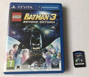 Lego Batman 3 III Beyond Gotham Sony Playstation Vita PS Vita Boxed PAL