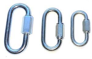 Quick Repair Link Rope Hook Chain Extend Screw Lock Fastener Carabine Heavy Duty