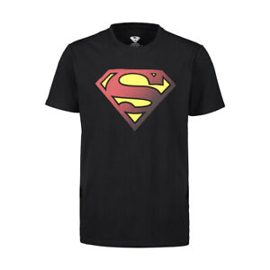 SUPERMAN Logo AUTHENTIC LICENSED OFFICIAL T-shirt New with Tags