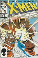 The Uncanny X-Men Comic Issue 217 Copper Age First Print 1987 Marvel