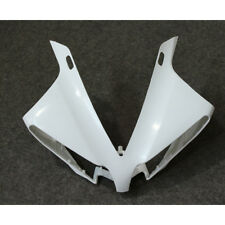 Plastic Unpainted Nose Cowl Upper Fairing Cover for Yamaha YZF-R1 2012 2013 2014