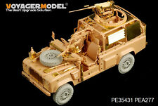 "Voyager PE35431 1/35 British Defender XD ""Wolf"" W.M.I.K(For hobby boss 82446)"