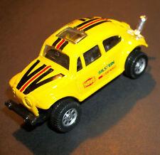 "3 cars Maisto ""Old School"" Volkswagen Beetle / Bug: all MINT, 2 are Baja Bugs"