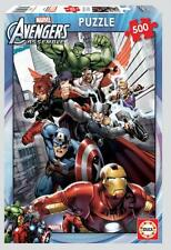 EDUCA MARVEL JIGSAW PUZZLE AVENGERS ASSEMBLE 500 PCS #15772