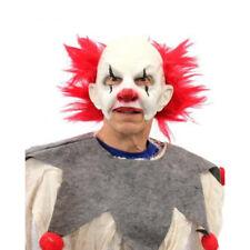 Carnival Clown Creep Funny Open Mouth Zagone Studios Adult Latex Mask & Collar