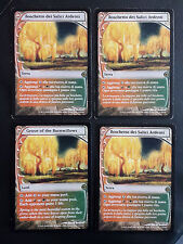 SET 4X BOSCHETTO DEI SALICI ARDENTI - GROVE OF THE BURNWILLOWS - MTG MAGIC [MF]