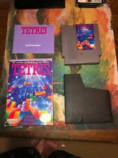 Tetris NES Complete With Box And Instruction Booklet