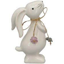Schaf aus Keramik 8cm Oster Figuren Osterdeko Tischdeko Geschenke Deko zu Ostern