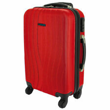 Maletas y equipaje rojo con 4 ruedas