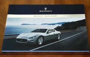 Maserati GranTurismo Coupe prestige brochure/booklet Prospekt, 2007