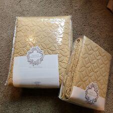 New listing Nancy koltes Egyptian Cotton Coverlet Set