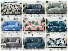 Printed Slipcover Sofa Covers Polyester Stretch Couch Cover Furniture Protector