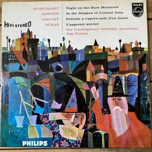 SABL 144 Mussorgsky / Borodin / Debussy / Dukas / Fournet / Concertgebouw Orc...
