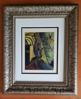 PABLO PICASSO 1948 SIGNED AWESOME PRINT MATTED 11 X 14 + LIST