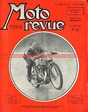 MOTO REVUE  853 BMW R 66 R66 600 Précision NOUGIER 175 Magnat Debon GP UMF 1939