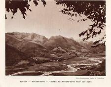 VIET NAM CAO BANG PROCHE VALLEE DE NGUYEN BINH IMAGE 1939 OLD PRINT