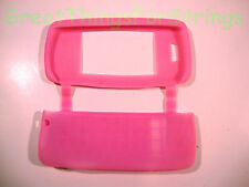 LG Touch Silicone Gel Rubber  Skin Cover Case Cell Phone Pink
