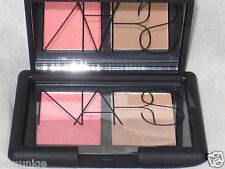 NIB NARS BLUSH/BRONZER DUO, ORGASM/LAGUNA, 0.08OZ/2.5G EACH SIDE, TRAVEL SIZE