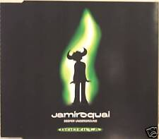 "JAMIROQUAI ""DEEPER UNDERGROUND"" cd's 3 track mint"